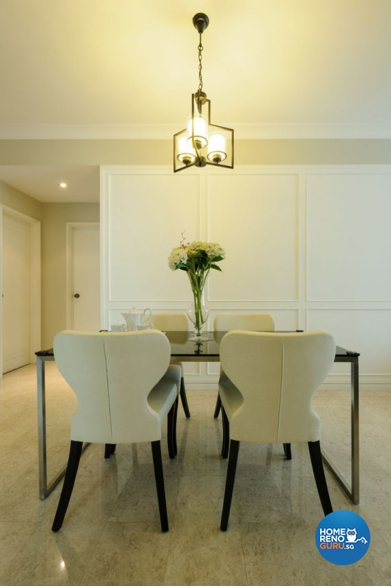 Classical, Contemporary, Minimalist Design - Dining Room - Condominium - Design by Icon Interior Design