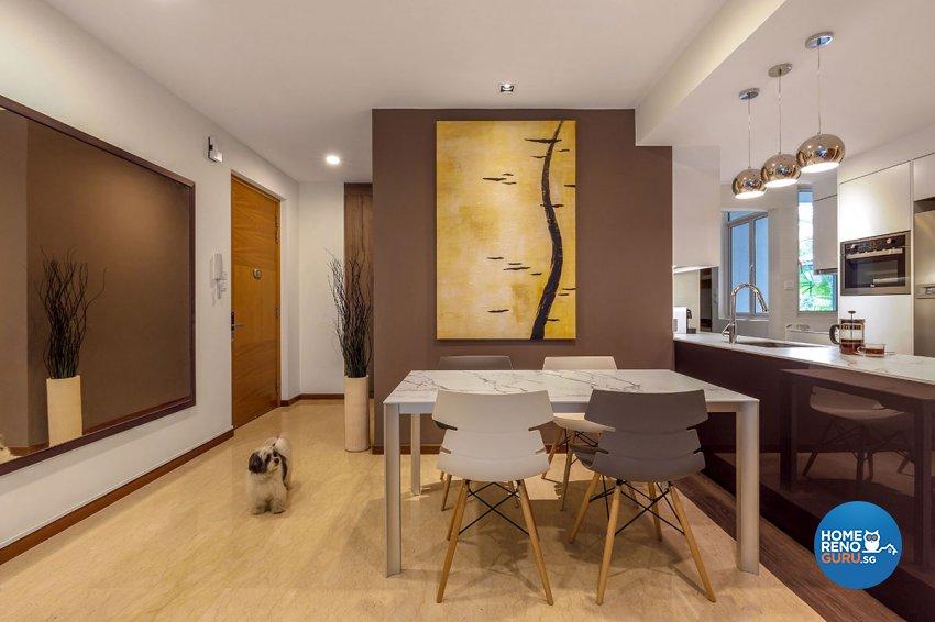 Contemporary, Modern Design - Dining Room - Condominium - Design by Icon Interior Design