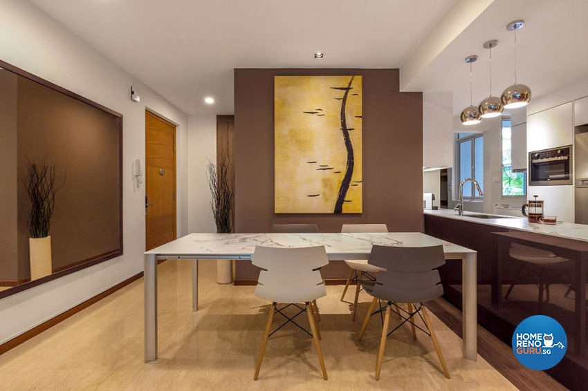 Contemporary, Modern Design - Dining Room - Condominium - Design by Icon Interior Design