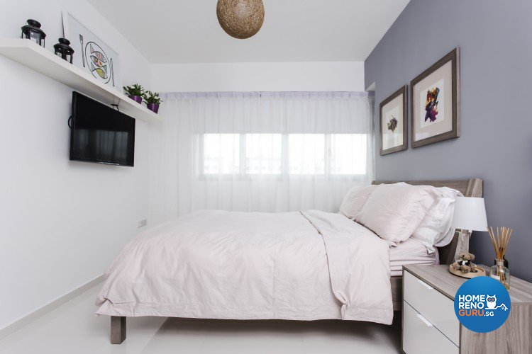 Modern, Scandinavian Design - Bedroom - HDB 4 Room - Design by Icon Interior Design