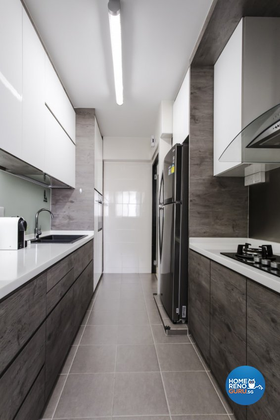 Modern, Scandinavian Design - Kitchen - HDB 4 Room - Design by Icon Interior Design