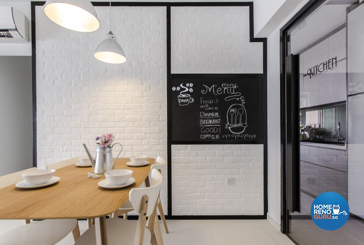Modern, Scandinavian Design - Dining Room - HDB 4 Room - Design by Icon Interior Design