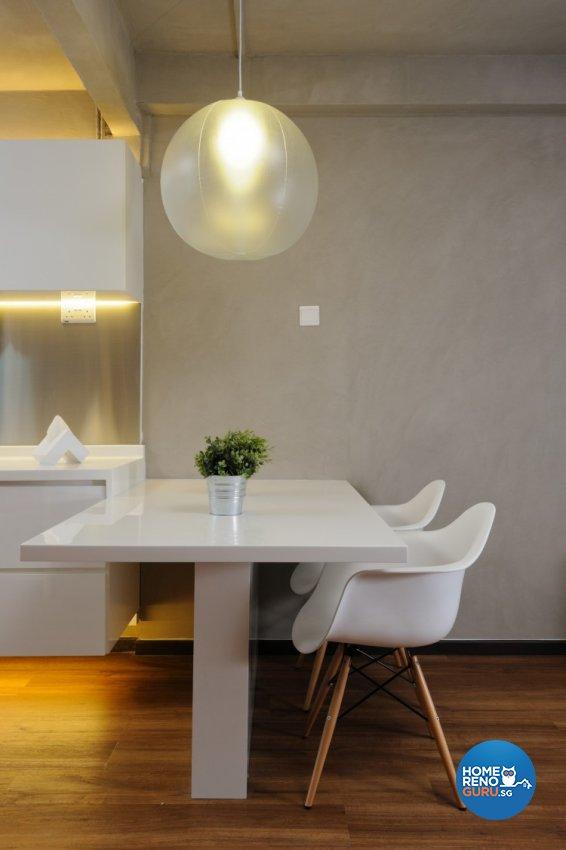 Minimalist Design - Dining Room - HDB 3 Room - Design by Icon Interior Design