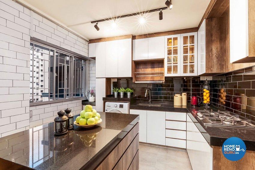 Scandinavian Design - Kitchen - HDB 5 Room - Design by Icon Interior Design