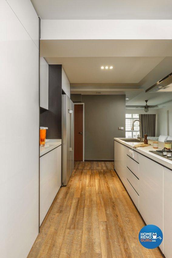 Contemporary, Modern Design - Kitchen - HDB 5 Room - Design by Icon Interior Design