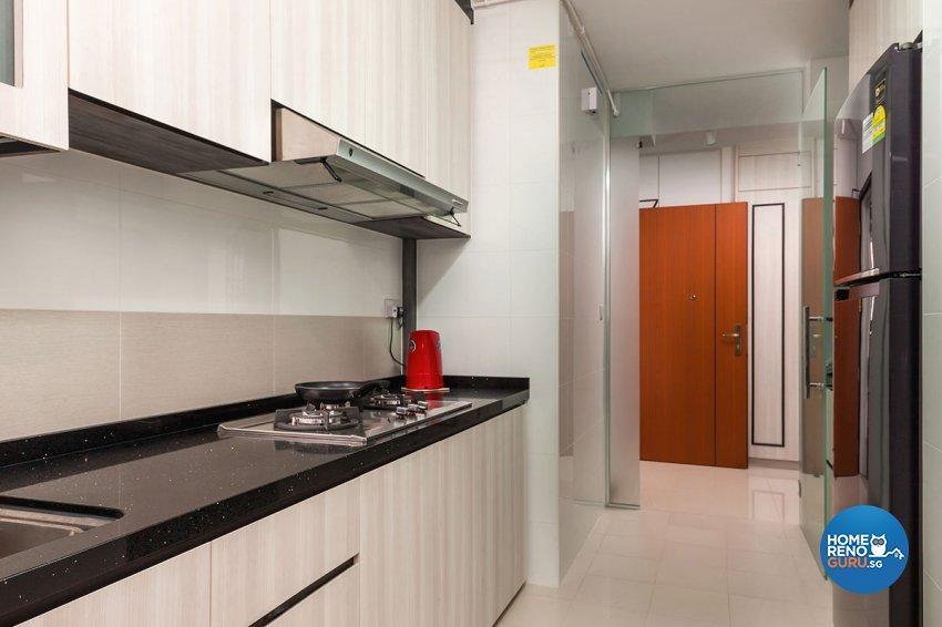 Modern, Scandinavian Design - Kitchen - HDB 4 Room - Design by Icon Interior Design