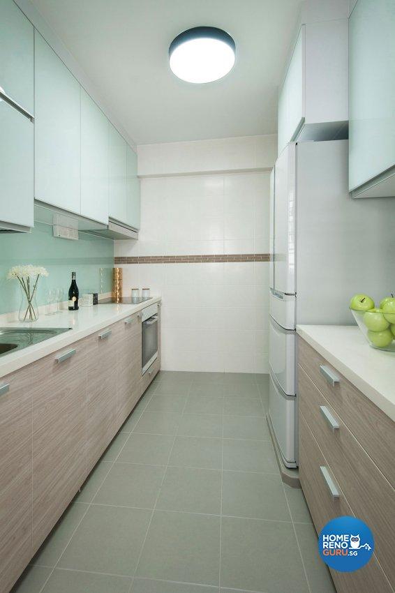 Contemporary, Modern Design - Kitchen - HDB 4 Room - Design by Icon Interior Design