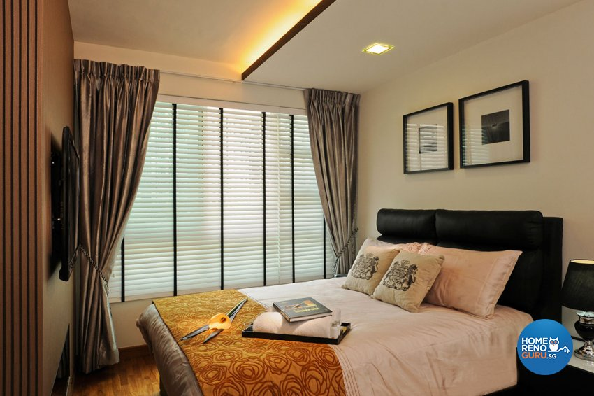 Contemporary, Modern Design - Bedroom - HDB 4 Room - Design by Icon Interior Design
