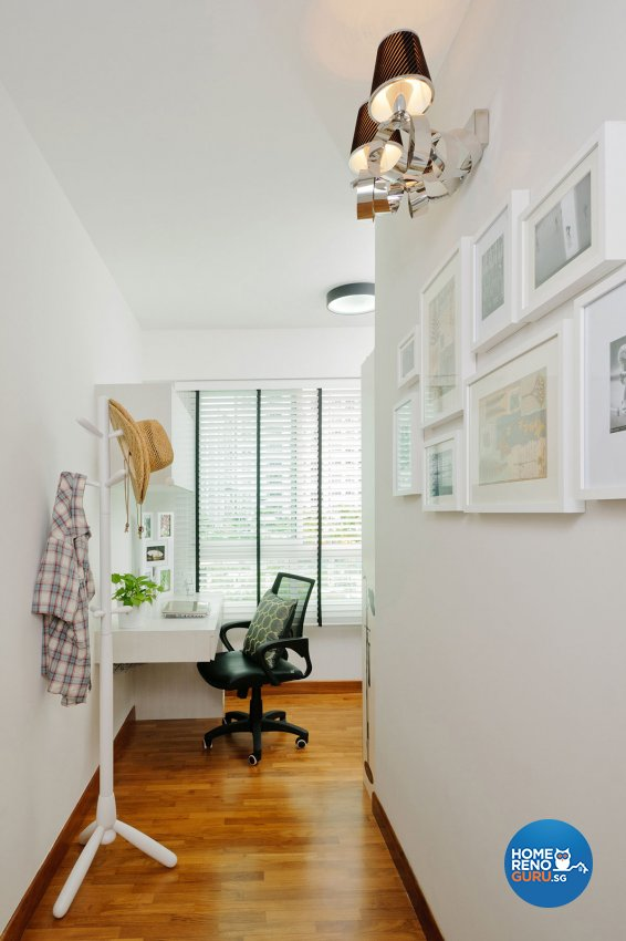 Contemporary, Modern Design - Study Room - HDB 4 Room - Design by Icon Interior Design
