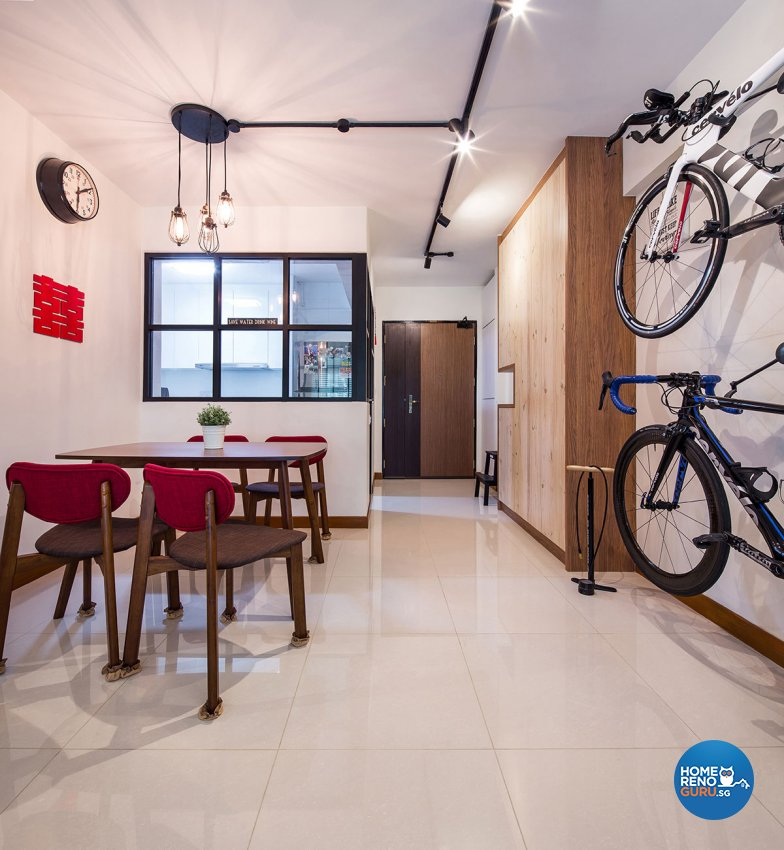 Retro, Scandinavian Design - Dining Room - HDB 4 Room - Design by Icon Interior Design