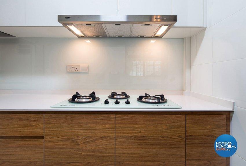 Retro, Scandinavian Design - Kitchen - HDB 4 Room - Design by Icon Interior Design