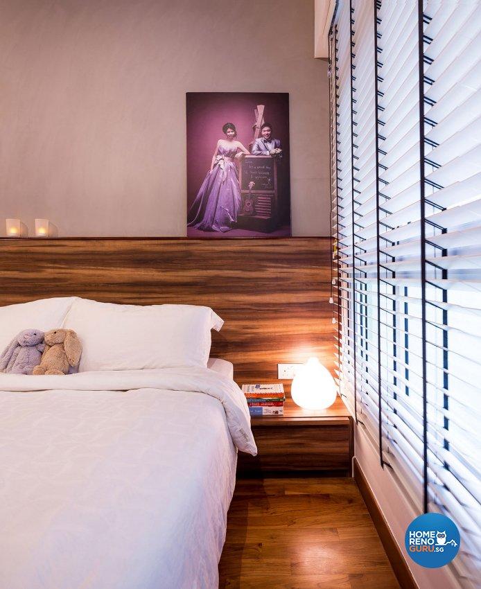 Retro, Scandinavian Design - Bedroom - HDB 4 Room - Design by Icon Interior Design