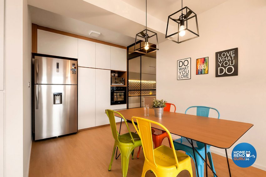 Others, Scandinavian Design - Dining Room - HDB 5 Room - Design by Icon Interior Design