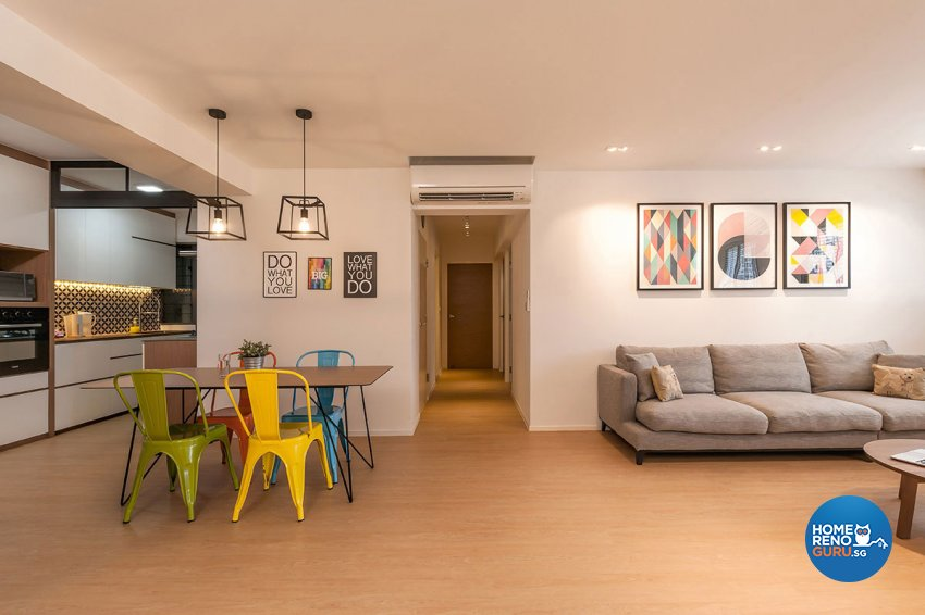 Others, Scandinavian Design - Living Room - HDB 5 Room - Design by Icon Interior Design