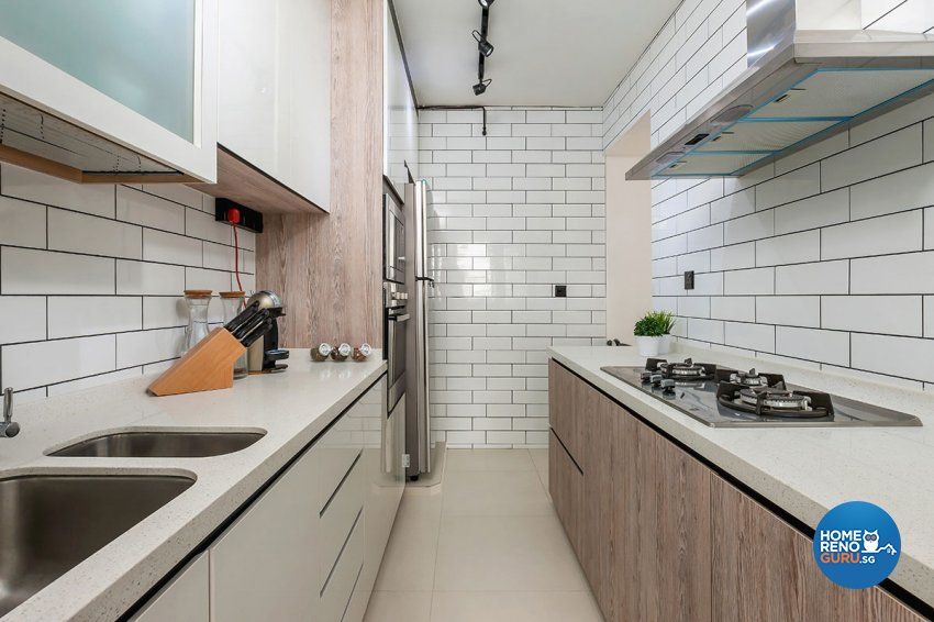 Contemporary, Scandinavian Design - Kitchen - HDB 5 Room - Design by Icon Interior Design