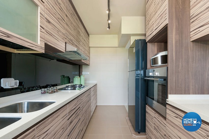 Contemporary, Scandinavian Design - Kitchen - HDB 4 Room - Design by Icon Interior Design