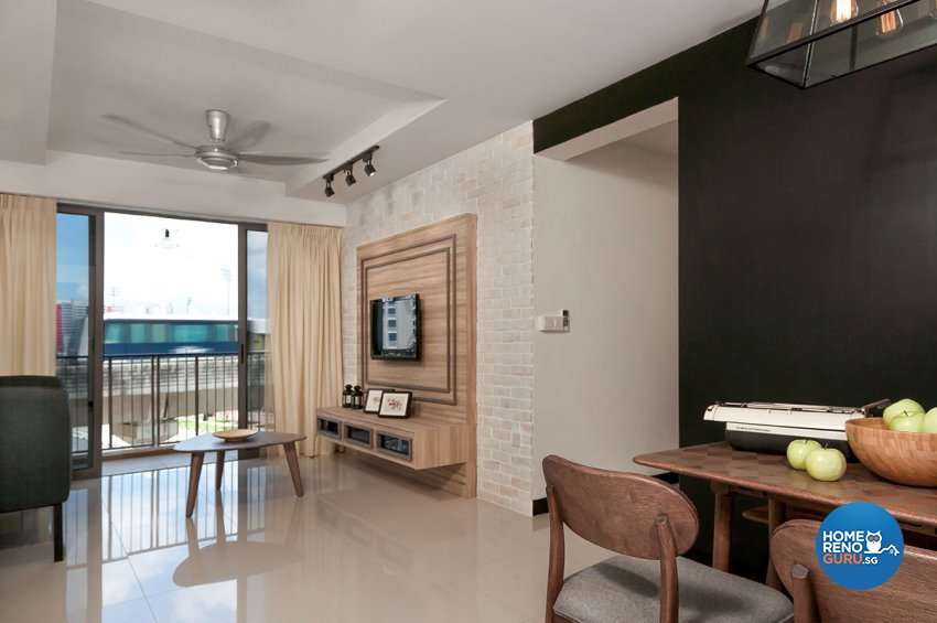 Contemporary, Scandinavian Design - Living Room - HDB 4 Room - Design by Icon Interior Design