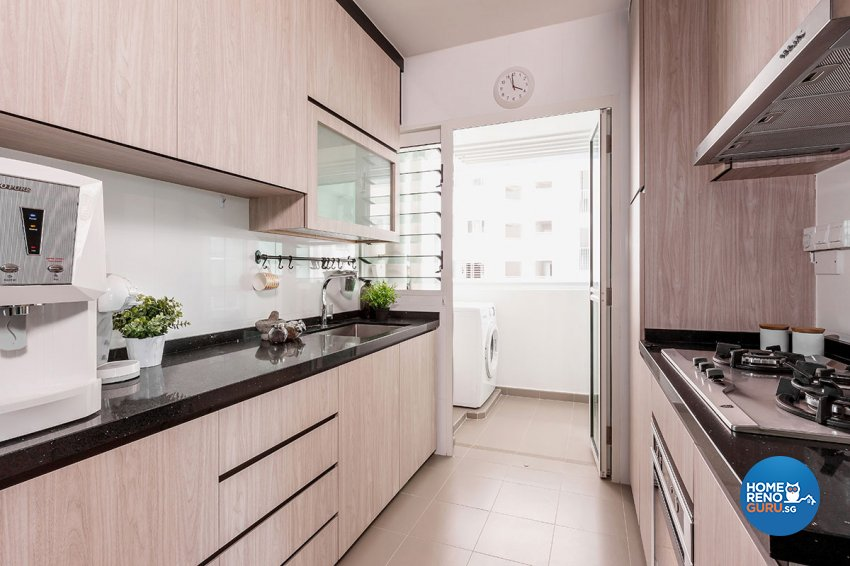 Classical, Modern Design - Kitchen - HDB 4 Room - Design by Icon Interior Design