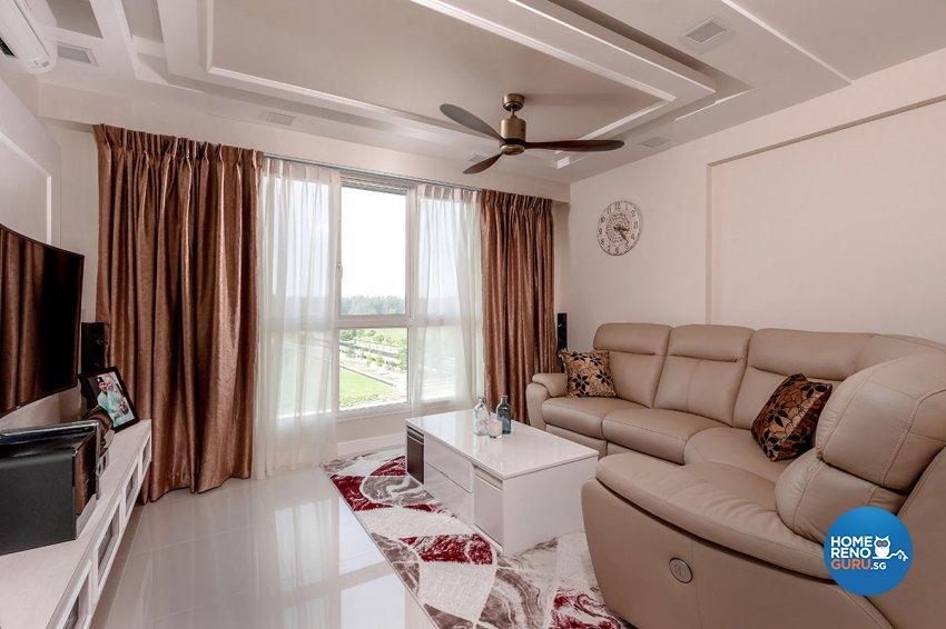 Classical, Modern Design - Living Room - HDB 4 Room - Design by Icon Interior Design