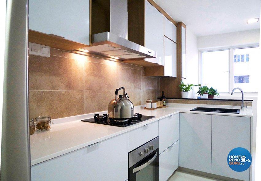 Modern Design - Kitchen - HDB 4 Room - Design by Icon Interior Design