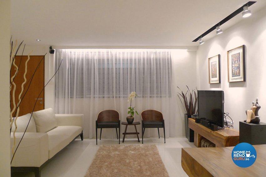 Modern Design - Living Room - HDB 4 Room - Design by Icon Interior Design