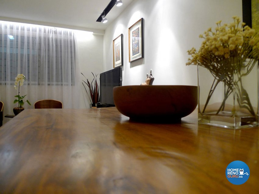 Modern Design - Dining Room - HDB 4 Room - Design by Icon Interior Design