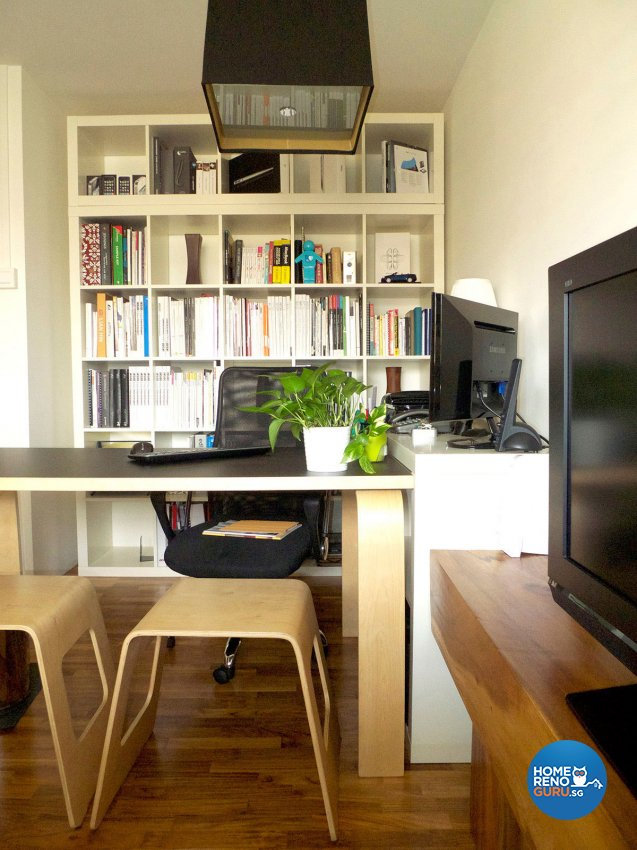 Modern Design - Study Room - HDB 4 Room - Design by Icon Interior Design