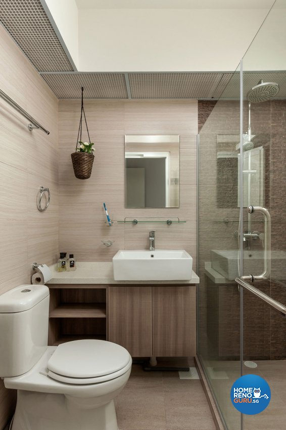 Contemporary Design - Bathroom - HDB 4 Room - Design by Icon Interior Design
