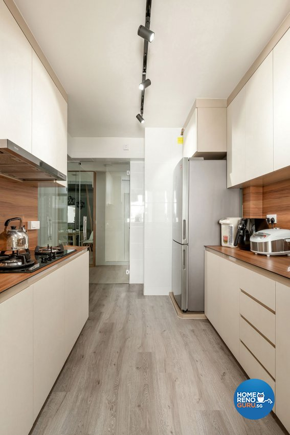 Contemporary Design - Kitchen - HDB 4 Room - Design by Icon Interior Design