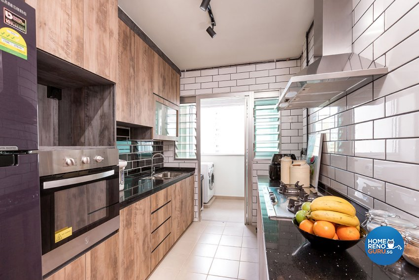 Industrial, Scandinavian Design - Kitchen - HDB 5 Room - Design by Icon Interior Design