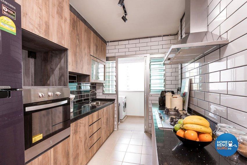 Industrial, Scandinavian Design - Kitchen - HDB 5 Room - Design by Icon Interior Design