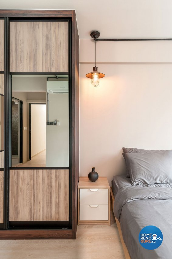 Industrial, Scandinavian Design - Bedroom - HDB 5 Room - Design by Icon Interior Design