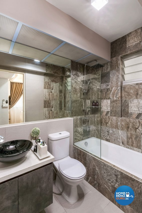Contemporary, Modern Design - Bathroom - HDB 4 Room - Design by Icon Interior Design