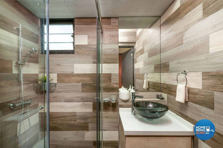 Contemporary, Modern Design - Bathroom - HDB 5 Room - Design by Icon Interior Design
