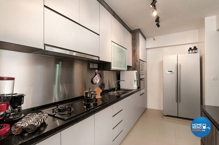 Contemporary, Modern Design - Kitchen - HDB 5 Room - Design by Icon Interior Design