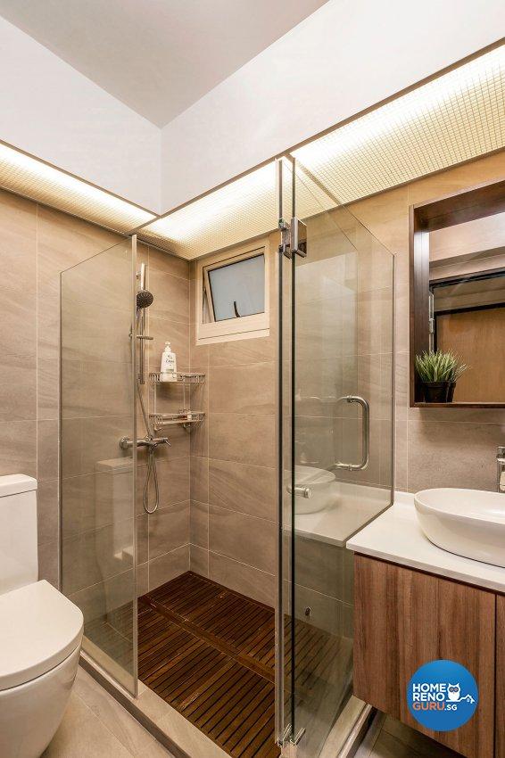 Industrial, Scandinavian Design - Bathroom - HDB 5 Room - Design by Icon Interior Design