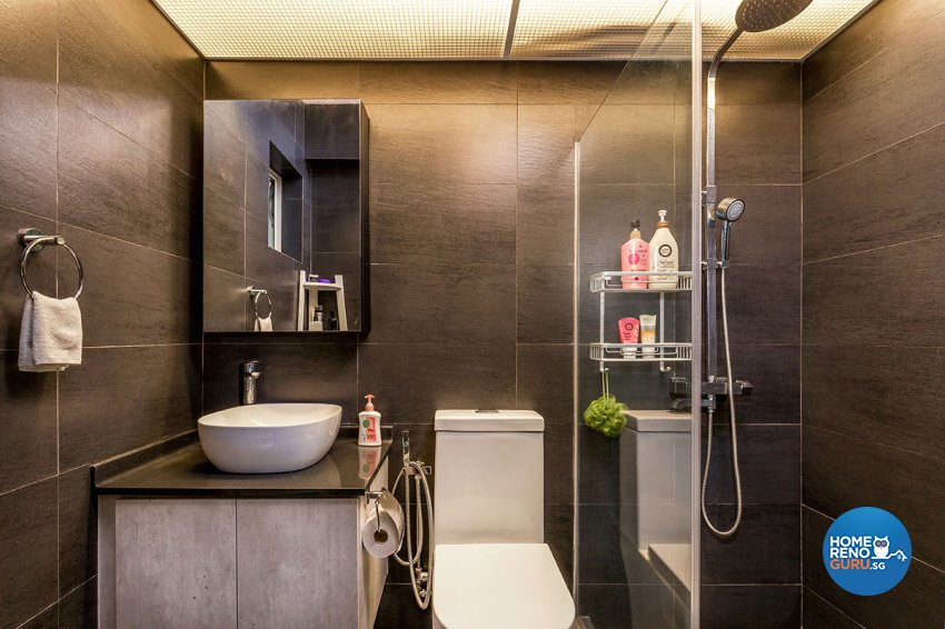 Industrial, Scandinavian Design - Bathroom - HDB 5 Room - Design by Icon Interior Design