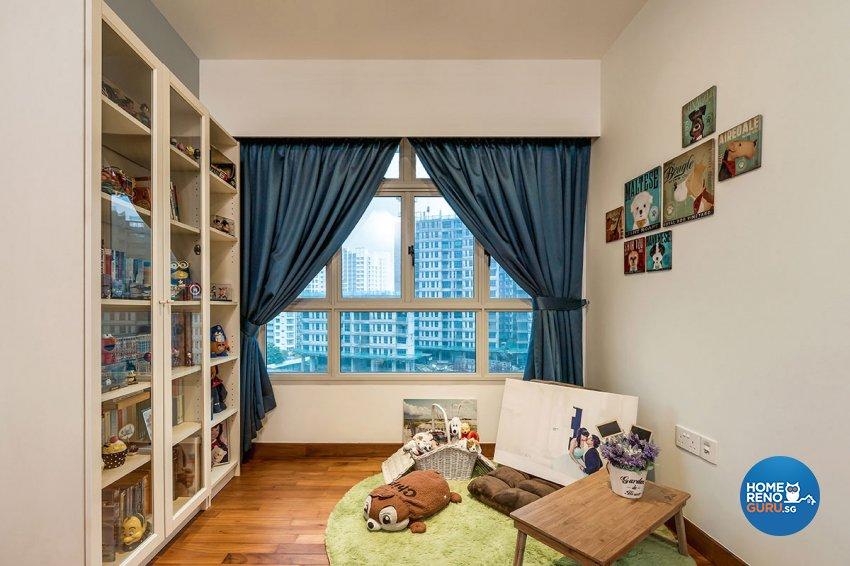 Industrial, Scandinavian Design - Bedroom - HDB 5 Room - Design by Icon Interior Design