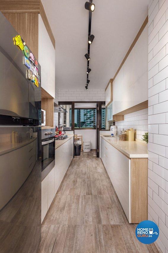 Industrial, Scandinavian Design - Kitchen - HDB 4 Room - Design by Icon Interior Design