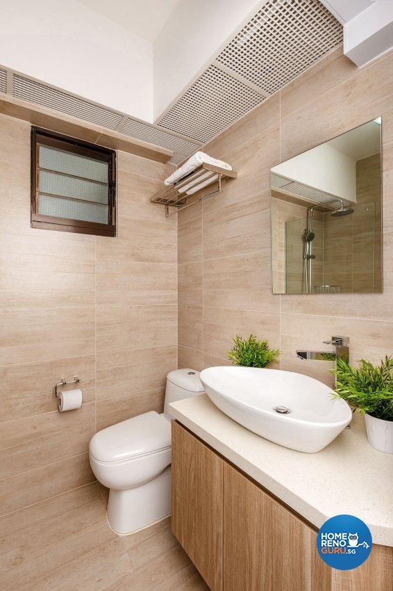 Industrial, Scandinavian Design - Bathroom - HDB 4 Room - Design by Icon Interior Design
