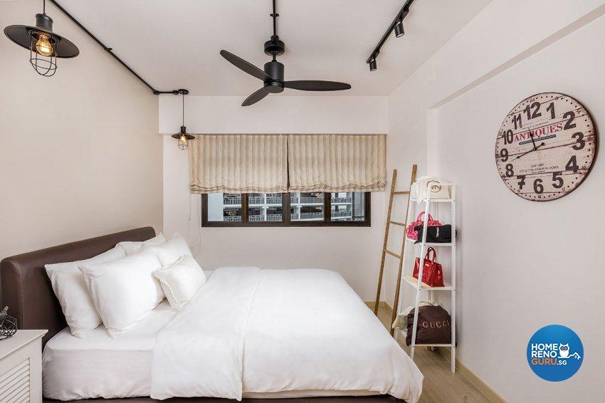 Industrial, Scandinavian Design - Bedroom - HDB 4 Room - Design by Icon Interior Design