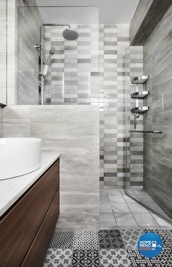 Others, Resort Design - Bathroom - HDB Executive Apartment - Design by Icon Interior Design