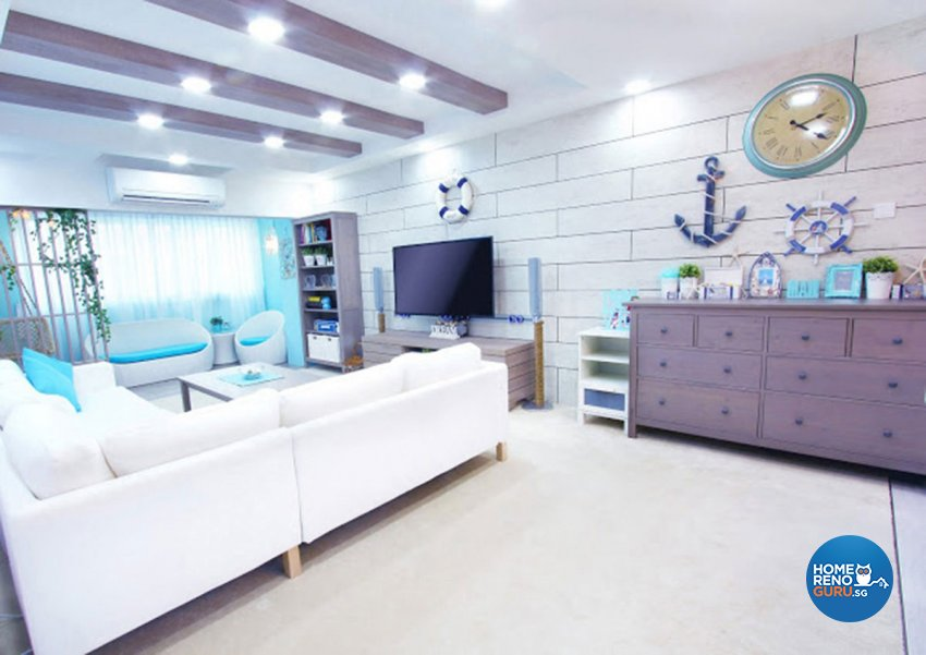 Others Design - Living Room - HDB 3 Room - Design by Icon Interior Design