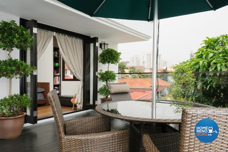 Contemporary Design - Balcony - Landed House - Design by Icon Interior Design