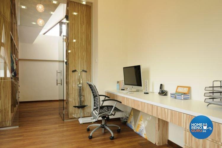Contemporary Design - Study Room - Landed House - Design by Icon Interior Design