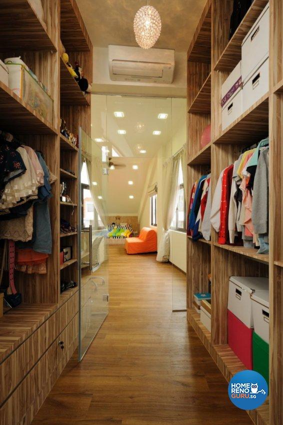 Contemporary Design - Bedroom - Landed House - Design by Icon Interior Design