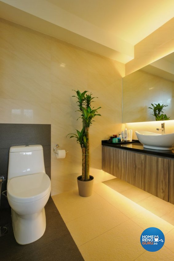 Contemporary Design - Bathroom - Landed House - Design by Icon Interior Design