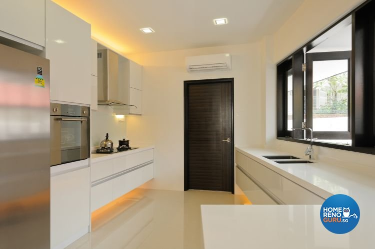 Contemporary Design - Kitchen - Landed House - Design by Icon Interior Design