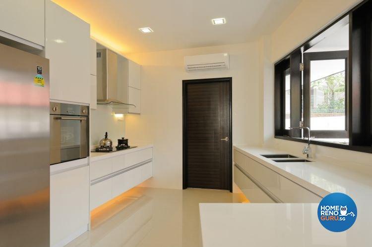 Contemporary Design - Kitchen - Landed House - Design by Icon Interior Design