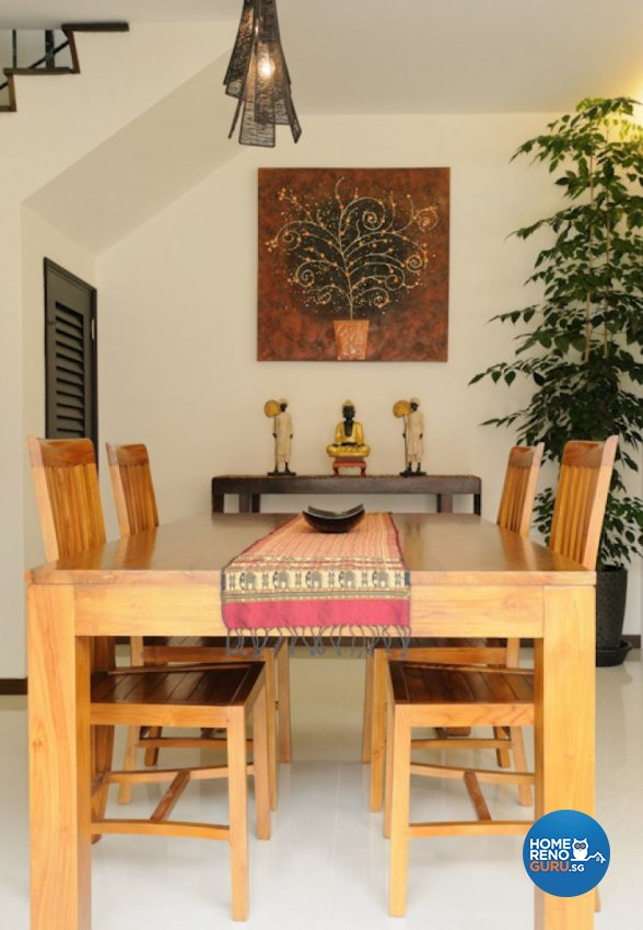 Contemporary Design - Dining Room - Landed House - Design by Icon Interior Design
